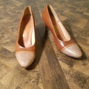 Leather Handmade High Heels